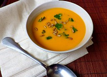 Batátový krém s mrkví a pomerančem