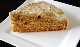 Mrkvový koláč s krémem