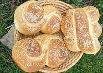 Pane siciliano (chléb ze Sicilie)