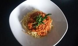 Boloňské špagety se sojou
