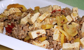 Chilli con carne s tofu (Dukanova dieta)