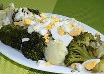 Květákovo – brokolicový salát