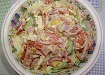 Maglajz (salát)  aneb večerní pochutnání
