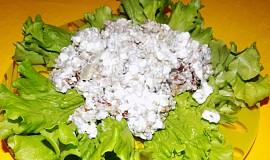 Pohankovo-rybí salát