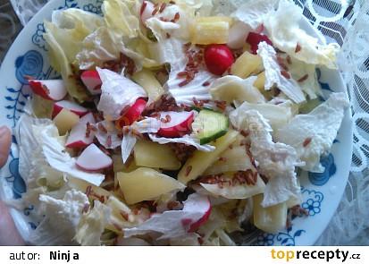 Salát s rýží