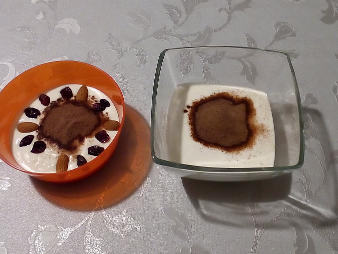 Tvarohový dezert ve skle