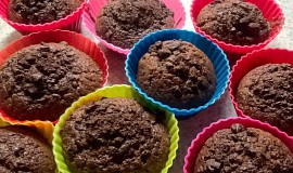 Výborné čokoládové muffiny