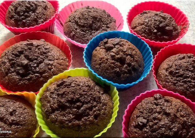 Výborné čokoládové muffiny, Čokoládové muffiny