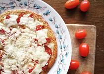 Zdravá pizza z jogurtového těsta