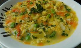 Zeleninová polévka s kapáním