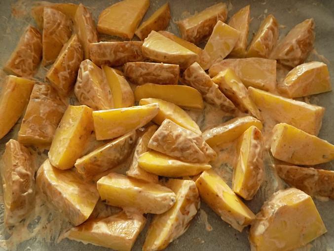 Americké brambory pečené v tatarce