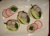 Kaviárové jednohubky