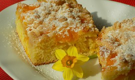 Mandarinkový koláč s drobenkou