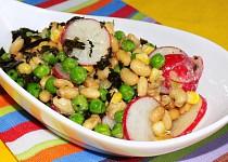 Sojový salát s hořčicovou zálivkou