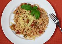 Špagety s dobrou náloží