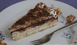 Studený piškotový dort