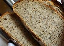 Tečkovaný kváskový chleba