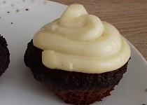 Mandlové muffiny s pudinkovým krémem (dietní)