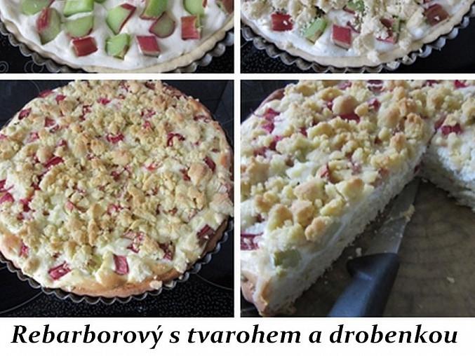 Nekynutý koláč z droždí s tvarohovo-jablečnou náplní