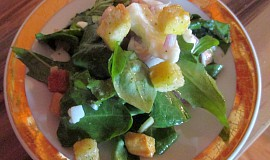 Pampeliškovo-bazalkový salát