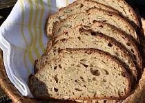 Pšenično-žitný chleba se semínky