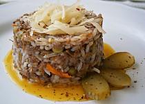 Rychlé rizoto z vařené rýže