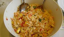 Salát z vodnice s mrkví a paprikami