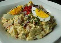 Vajíčkový salát s tuňákem