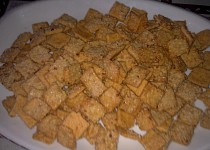 Mandlové slané pečivo