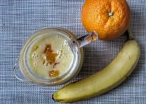 Pomerančovo-banánové smoothie