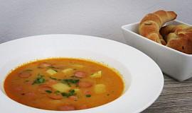 Rychlá frankfurtská polévka