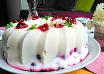 Zmrzlinový bábovkový dortík s ovocem II.