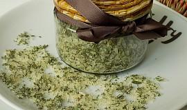 Domácí bylinková sůl