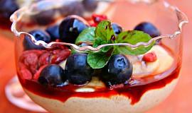 Jáhlový dezert s mascarpone