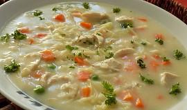 Králičí zadělávaná polévka