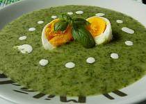 Krémová polévka z listového salátu