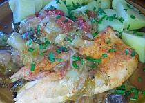 Kuřecí prsa pečená se zeleninou