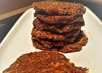 Raw slaďounké mrkvové sušenky s vanilkou