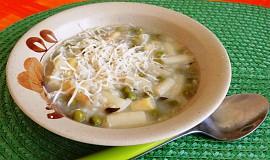 Rýžová polévka s chřestem