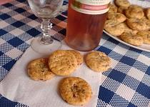 Slaninovo-sýrové sušenky k vínku