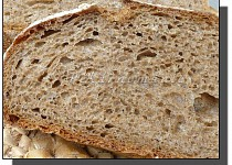 Grahamový chléb (s prefermentem)