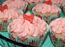 Jahodové muffiny / cupcaky