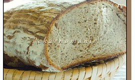 Kváskový podmáslový chléb