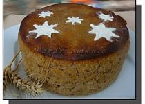 Žitný kváskový chleba z remosky
