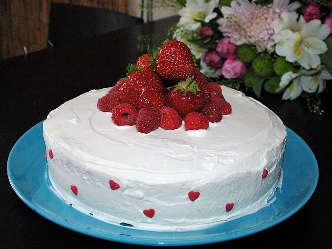 Mandlový bezlepkový koláč