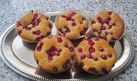Rychlé rybízové muffiny