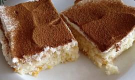Mandarinkový koláč s tvarohovým krémem