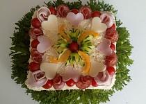 Můj první slaný dort
