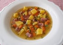 Polévka z uzeného jazyka