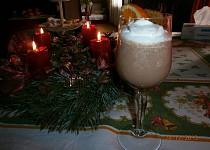 Čokoládovo-pomerančová pěna do skleniček